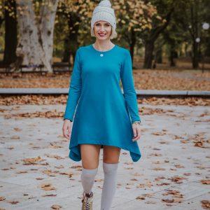 Natur-krémové šaty