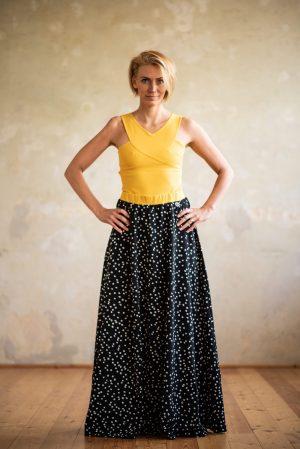 Maxi sukňa