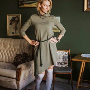 Šaty Olívia s rolákom