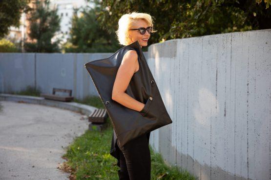 Maxi Mell kabelka-umelá koža