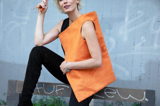 Maxi Mell kabelka-semiš